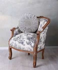 französischer sessel franz 246 sischer sessel antik barockstuhl toile de jouy