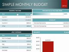 Microsoft Excel Budget Download Monthly Budget Excel Template Microsoft Excel