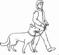 grosser hund mit junge ausmalbild malvorlage hund