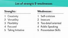 What Is Your Biggest Weakness Interview Question What Are Your Strengths And Weaknesses While Hr Asking