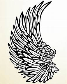 Drawing Of Angel Wings Wing Of An Angel Stock Vector Illustration Of Beautiful