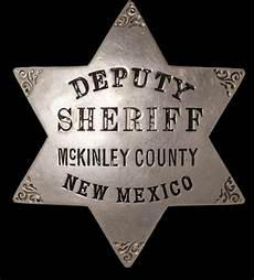 Mckinley County Sheriff Deputy Sheriff Mckinley County New Mexico 6 Point Star