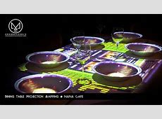 Dining Table Projection Mapping   YouTube