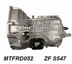 Ford Zf S542 And S547 Manual Transmission Parts Illustration