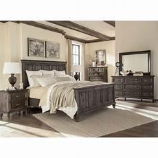calistoga charcoal 6 cal king bedroom set