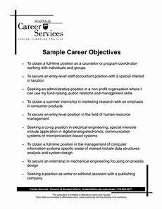 Career Objective Examples For Customer Service Career Objective Resume Accountant Http Www