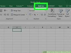 How To Use Solver In Excel How To Use Solver In Microsoft Excel With Pictures Wikihow