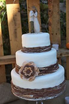 rustic wedding cake wedding events pinterest