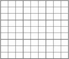 Sudoku Printable Grids Printable Blank Sudoku Grid