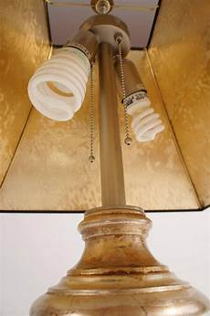 Baker Knapp And Tubbs Lighting Two Gilded Baker Knapp And Tubbs Table Lamps Circa 1960s