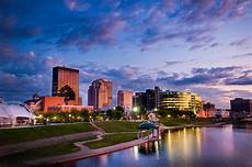 Newark Ohio Light The Night Dayton Skyline Robin Feld Photography Travel Around The
