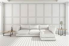 Small White Sofa 3d Image by 3d Rendering White Soft Sofa In Classic Living Room Stock