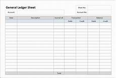 Ledger Template Free 3 Account Ledger Templates Excel Excel Xlts