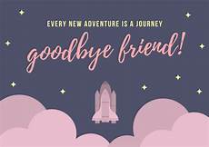 It Goodbye Checks Design Customize 79 Farewell Card Templates Online Canva