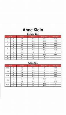 Anne Size Chart 26 Best Name Brand Clothing Size Charts Images Clothing