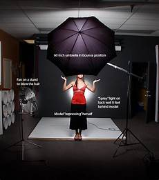 How To Use Umbrella Lights In Video Tech Sheet 2 November 2008 Two Light Portrait