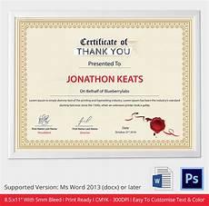 Certificate Format Template Word Certificate Template 31 Free Download Samples