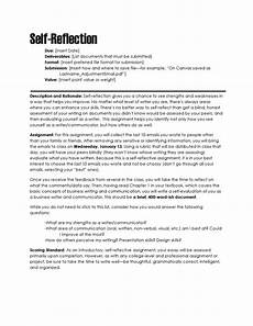 Personal Reflection Essay Example Self Reflection The Visual Communication Guy