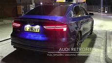 Audi Lights 2015 2015 Audi S3 Saloon With Facelift Dynamic Sweeping