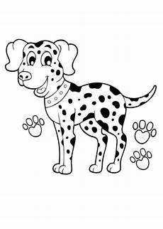 Ausmalbilder Hunde Dalmatiner Ausmalbilder Dalmatiner Tiere Zum Ausmalen Malvorlagen