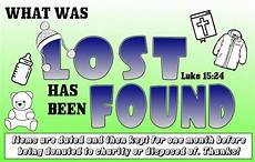 Lost And Found Sign Kidology Inc Lost And Found Sign
