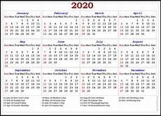 2020 Calendar Canada 2020 Can Holidays Calendar 1