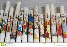 candele chiesa candele della chiesa fotografia stock immagine di