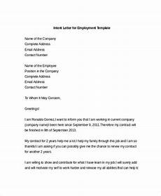 Letter Of Intent To 9 Intent Letter Templates Free Sample Example Format