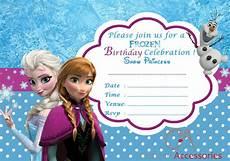 Frozen Birthday Invitations Printable 20x Frozen Elsa Party Invitations Kids Children S Invites