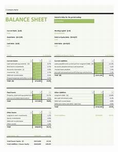 Balance Seet 41 Free Balance Sheet Templates Amp Examples Free Template