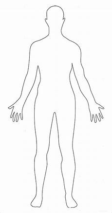Body Template Outline 23 Human Body Templates Doc Pdf Ppt Free Amp Premium