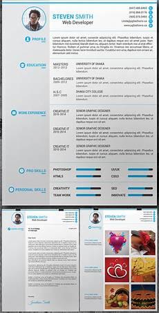 Portfolio Psd Template Free Download 15 Free Elegant Modern Cv Resume Templates Psd