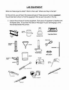 Lab Equipment 18 Best Images Of Lab Apparatus Worksheet Science Lab