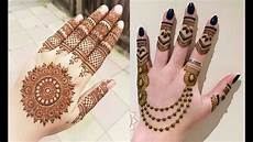 Hennagir Designs Quick And Easy Mehndi Henna Designs For Hands Youtube