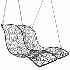 duo modern hanging swing recliner couture outdoor