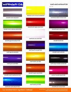 Metallic Car Paint Color Chart Metallic Ppg Automotive Paint Color Chart In 2020 Car