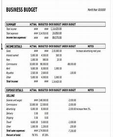 Budgets For Businesses 11 Business Budget Templates In Excel Word Pdf Free