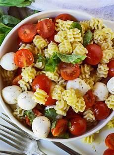 Recipes For Pasta Salad Caprese Pasta Salad Recipe Wonkywonderful