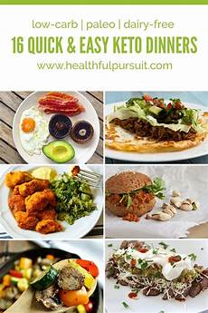 16 and easy keto dinners healthful pursuit