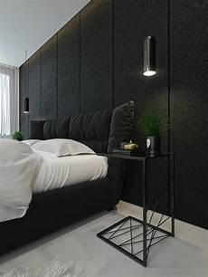 Black And White Modern Bedrooms Black And White Interior Design Ideas Modern Apartment By