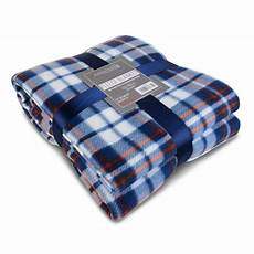 soft warm 150x200cm tartan check sofa throw bed