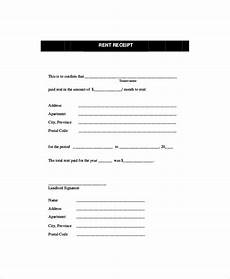 Receipt Of Rent Payment Template Rent Receipt Template 11 Free Word Pdf Documents