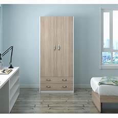 cassetti in kit armadio 2 ante con cassetti h 210 da letto