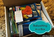 Fun Babysitting Ideas Babysitting In A Box A Little Craft In Your Day