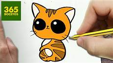 dibujos de gatos como dibujar gato kawaii paso a paso dibujos kawaii