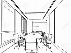 Perspective Office Interior Perspective Drawing At Getdrawings Free Download