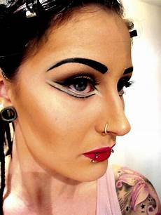 Theatrical Makeup Artist Straight Theater Makeup On Myself Becky Makeup