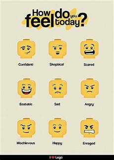 Lego Feelings Chart Lego Feelings Chart Great For Children Parent Resources