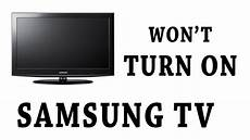 Samsung Tv Wont Turn On But Red Light Flashes Samsung Tv Standby Red Light On Won T Turn On Youtube