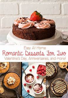 easy desserts for two at home in the